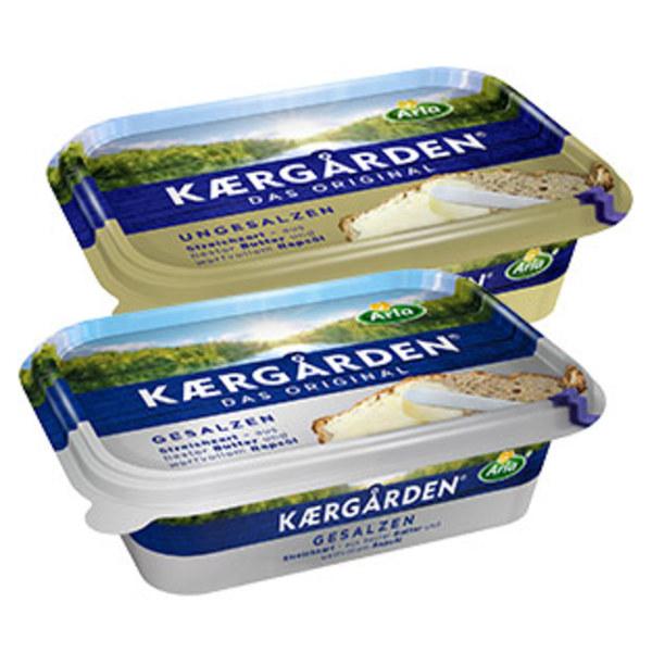 Arla Kaergården oder Arla Kaergården Balance versch. Sorten, jede 250-g-Packung