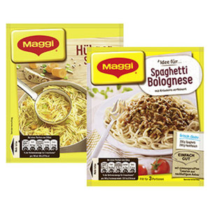 Maggi Fix oder Guten Appetit Suppe versch. Sorten, bitte sortieren Sie selbst, jeder Beutel