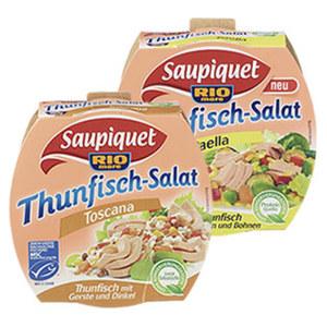 Saupiquet MSC Thunfischsalate versch. Sorten, jede 160-g-Dose