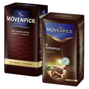 Mövenpick Kaffee der Himmlische oder - Kaffee El Autentico jede 500-g-Vac-Packung