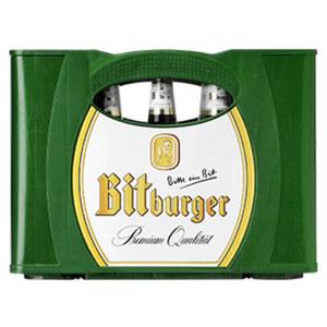 Bitburger Pils, Alkoholfrei oder Premium Kellerbier 20 x 0,5/24 x 0,33 Liter