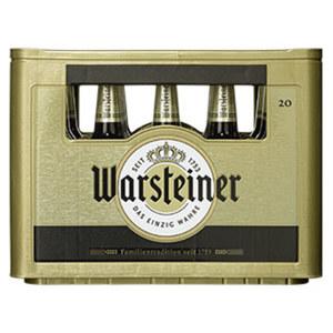 Warsteiner Pils, Alkoholfrei oder Herb 20 x 0,5/24 x 0,33 Liter