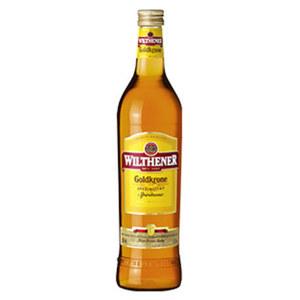 Wilthener Goldkrone, Vanille oder Kirsche 28/25/25 % Vol.,  jede 0,7-l-Flasche