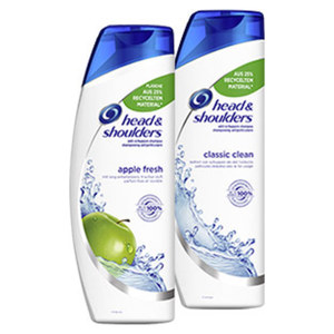 Head & Shoulders Shampoo versch. Sorten, jede 500-ml-Flasche