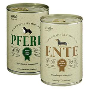 Fleischmahlzeit  Hunde-Nassnahrung versch. Sorten jede 400-g-Dose