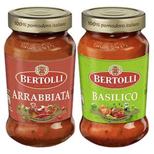 Bertolli Pasta Saucen Classico  versch. Sorten, 400-g-Glas