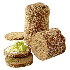 Eiweißabendbrot das Brot für die besondere Ernährungsform, jeder 400-g-Laib