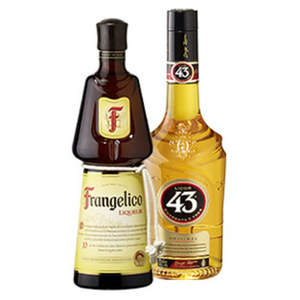Licor 43 oder Frangelico 31/20 % Vol., jede 0,7-l-Flasche