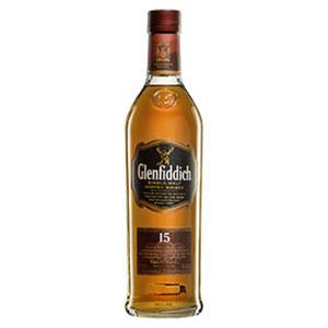 Glenfiddich Solera 15 Jahre Single Malt Scotch Whisky 40 % Vol., jede 0,7-l-Flasche