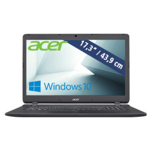 Notebook ES17 (ES1-732-P5SK) • HD+-Display • Intel® Pentium® N4200 (bis zu 2,5 GHz) • Intel® HD Graphics 505 • USB 3.0, USB 2.0 • DVD-Laufwerk
