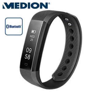 Fitnessarmband E1500 • Schrittzähler, Kalorienverbrauch, Schlafüberwachung, Wecker • staub- und spritzwassergeschützt