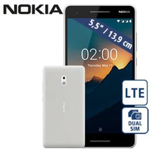 Smartphone Nokia 2.1 • 2 Kameras (5 MP/8 MP) • 1-GB-RAM • microSD™-Slot bis zu 128 GB • Android™ 8.0