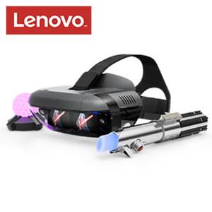 Lenovo Star Wars™ Jedi Challenges AR-Paket mit Headset, Lichtschwert und Peilsender • entdecke die Star Wars Herausforderung mit Smartphone und der Augmented-Reality-App • kämpfe mit dem Licht