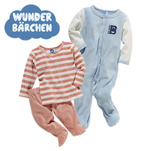 Baby-Velours-Pyjama oder -Overall Größe: 68 - 98, je