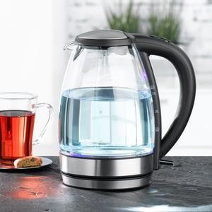 Elta Glas-Wasserkocher mit Edelstahl-Heizelement