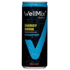 WellMix ENERGY Energy Drink Sugarfree 0.24 EUR/100 ml