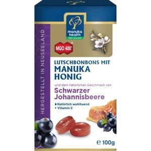 Manuka Health Honig Lutschbonbons Schwarze Johannisbeer 9.79 EUR/100 g