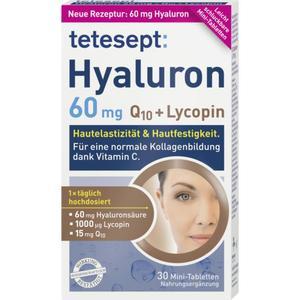 tetesept Hyaluron 60mg Q10 + Lycopin