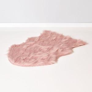 Fellteppich, 90 x 60 cm, rosa