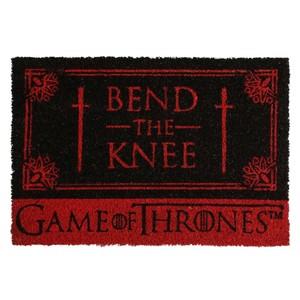Fußmatte , Game of Thrones - Bend the Knee, 60 x 40 cm