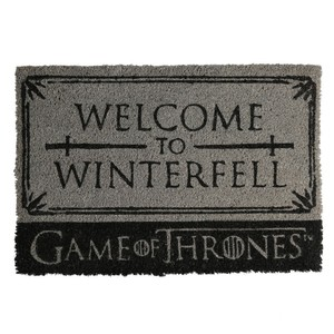 Fußmatte, Game of Thrones - Welcome to Winterfell, 60 x 40 cm
