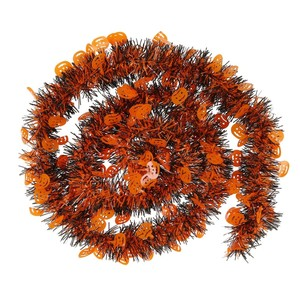 Foliengirlande, Kürbis, 2 m, orange