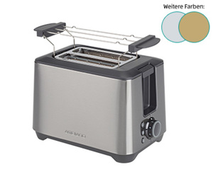 AMBIANO Edelstahl-Toaster