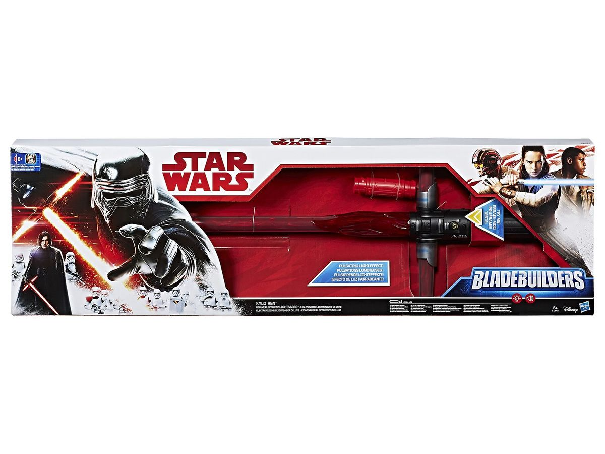 Bild 3 von Hasbro Star Wars Episode 8 Kylo Ren Ultimate FX Lichtschwert