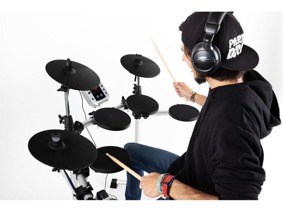 Bild 2 von XDrum DD-400 E-Drum Kit SET mit Kopfhörer, Hocker und Sticks