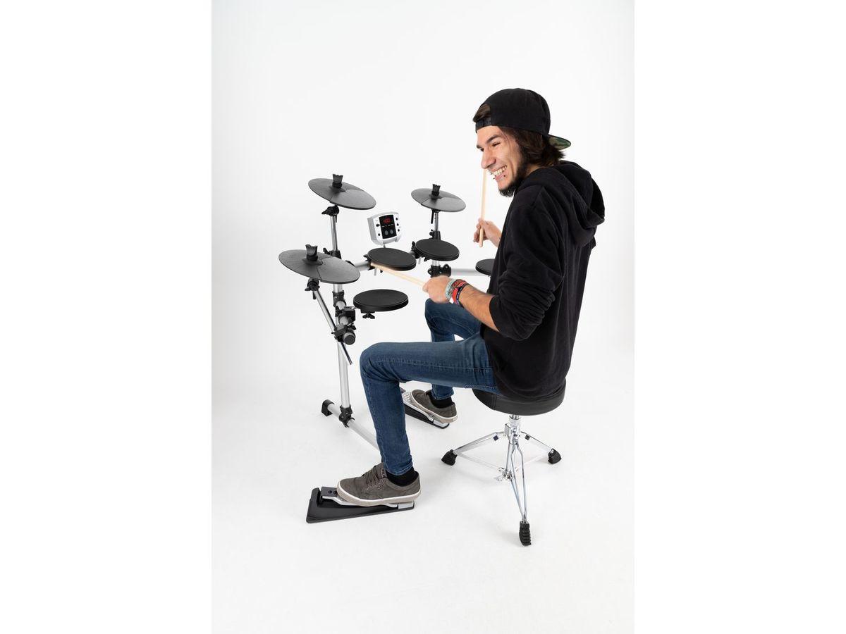 Bild 3 von XDrum DD-400 E-Drum Kit SET mit Kopfhörer, Hocker und Sticks