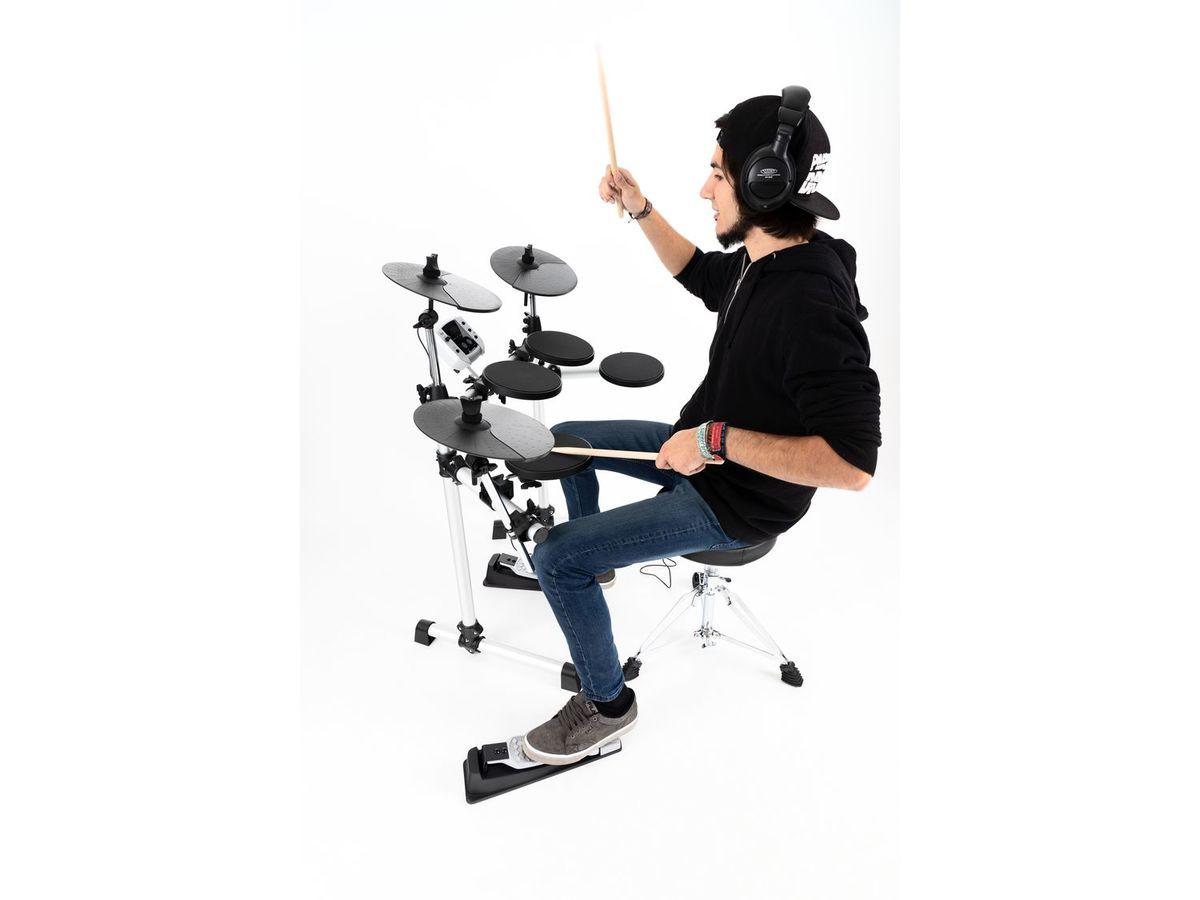 Bild 4 von XDrum DD-400 E-Drum Kit SET mit Kopfhörer, Hocker und Sticks