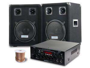 McGrey PA Komplettset PowerDJ-1200 800W