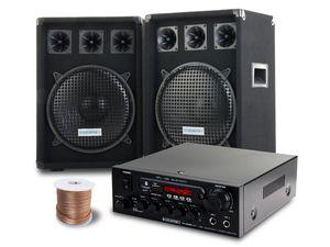 McGrey PA Komplettset PowerDJ-2000 1200W