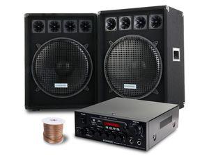 McGrey PA Komplettset PowerDJ-2500 1600W