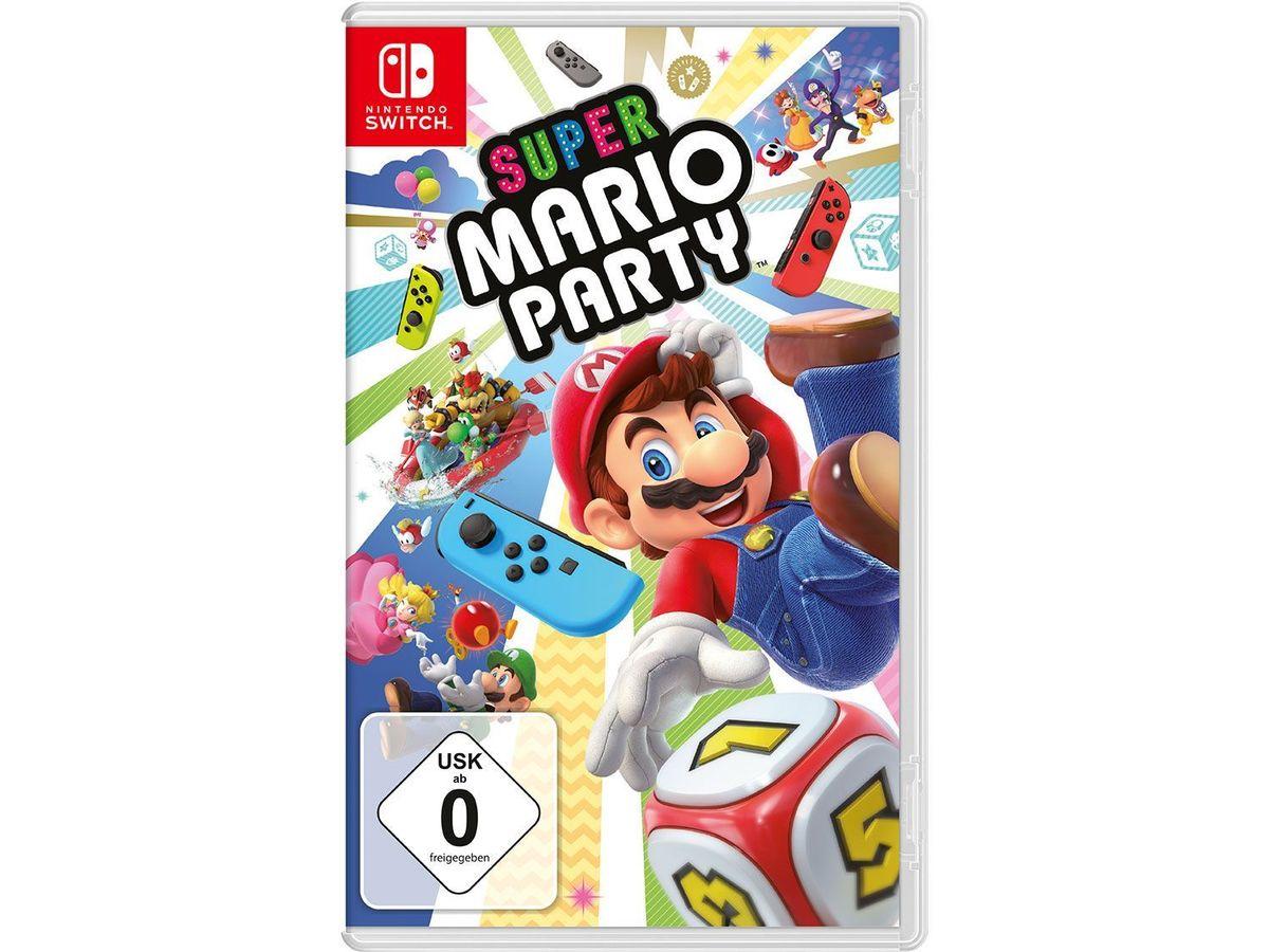 Bild 2 von Nintendo Switch Konsole Neon-Blau/Neon-Rot + Super Mario Party