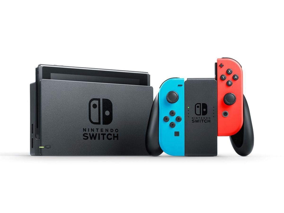 Bild 4 von Nintendo Switch Konsole Neon-Blau/Neon-Rot + Super Mario Party