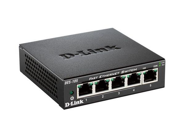 D-Link DES-105/E Fast Ethernet Switch