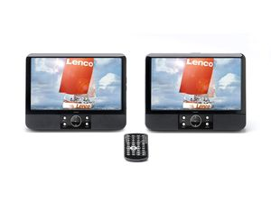 "Lenco Lenco MES-403 Tragbares DVD-Player Set mit 9""-Monitoren"