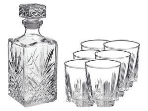 BORMIOLI ROCCO Whisky-Set Selecta, 7-teilig