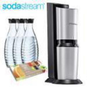 SODASTREAM Trinkwassersprudler »Crystal 2.0 Promopack«