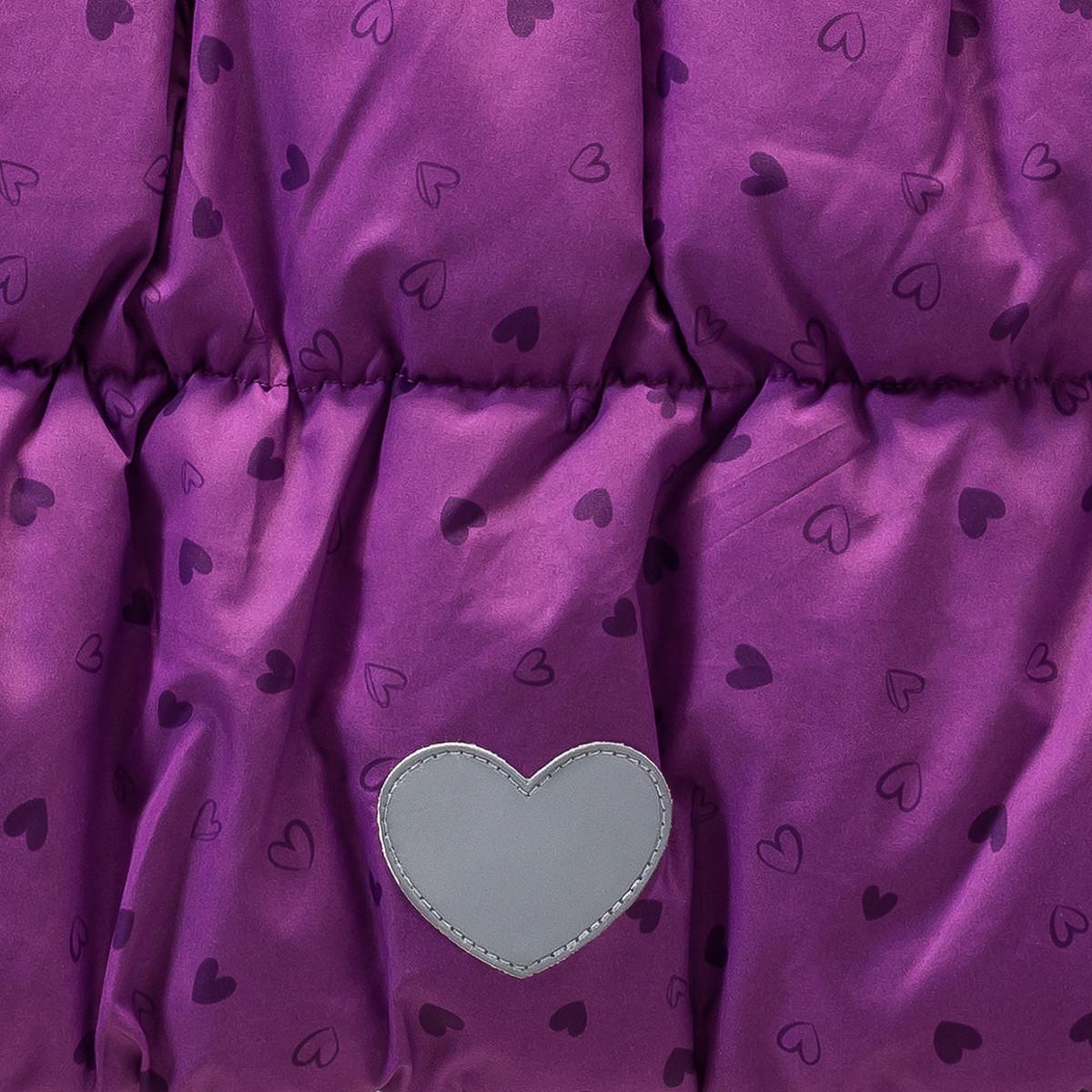 Bild 4 von Mädchen Jacke mit Herzen
