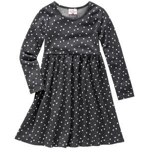 Mädchen Kleid mit Pünktchendruck