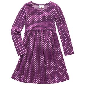 Mädchen Kleid mit Sternchendruck