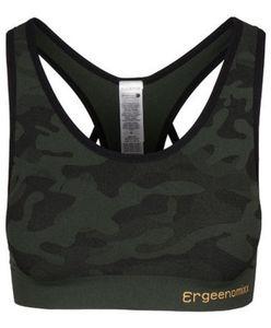 Ergeenomixx - Sport-Bustier - Camouflage, nahtlos