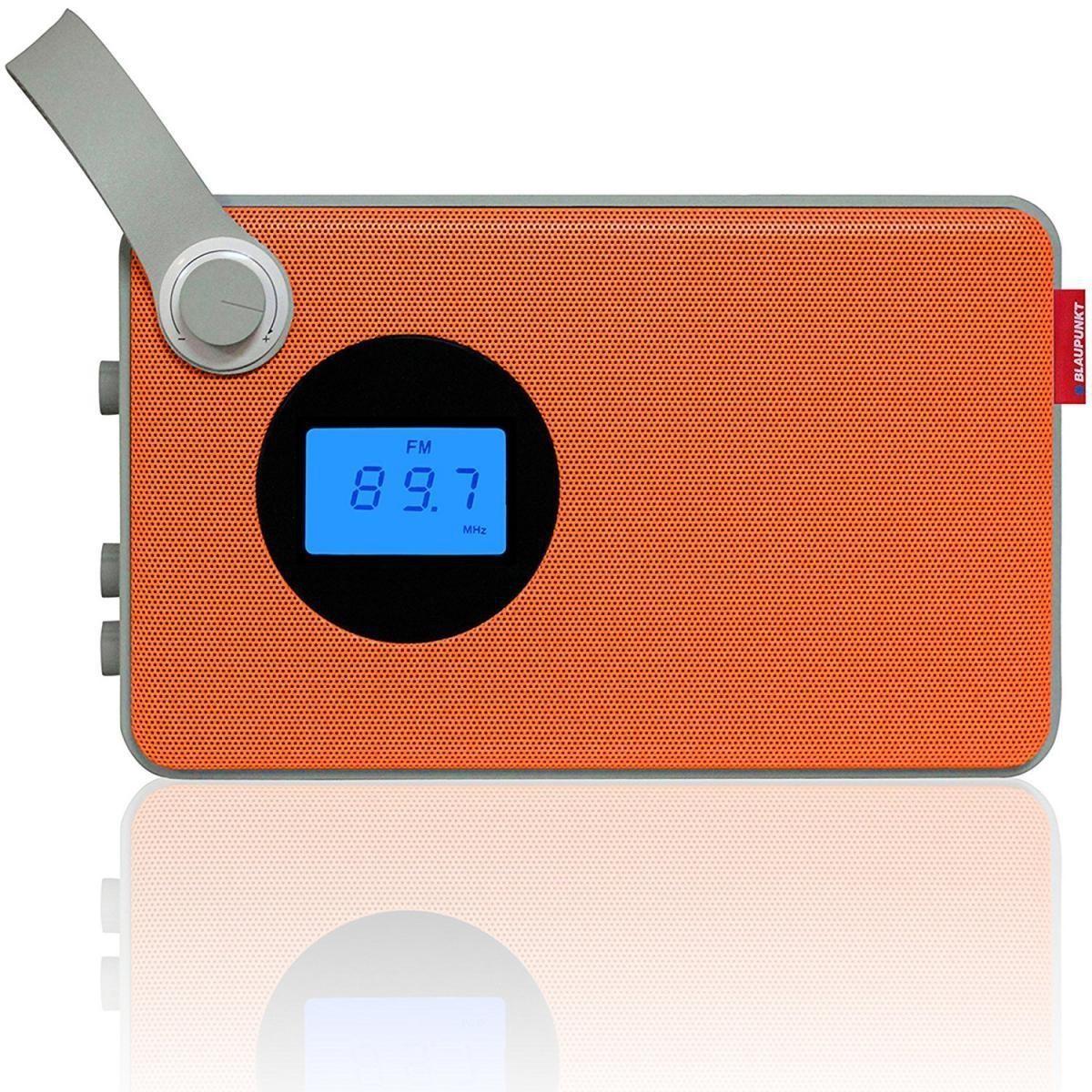 Bild 1 von Blaupunkt RX 25 OR Retro Design Radio USB SD FM Orange