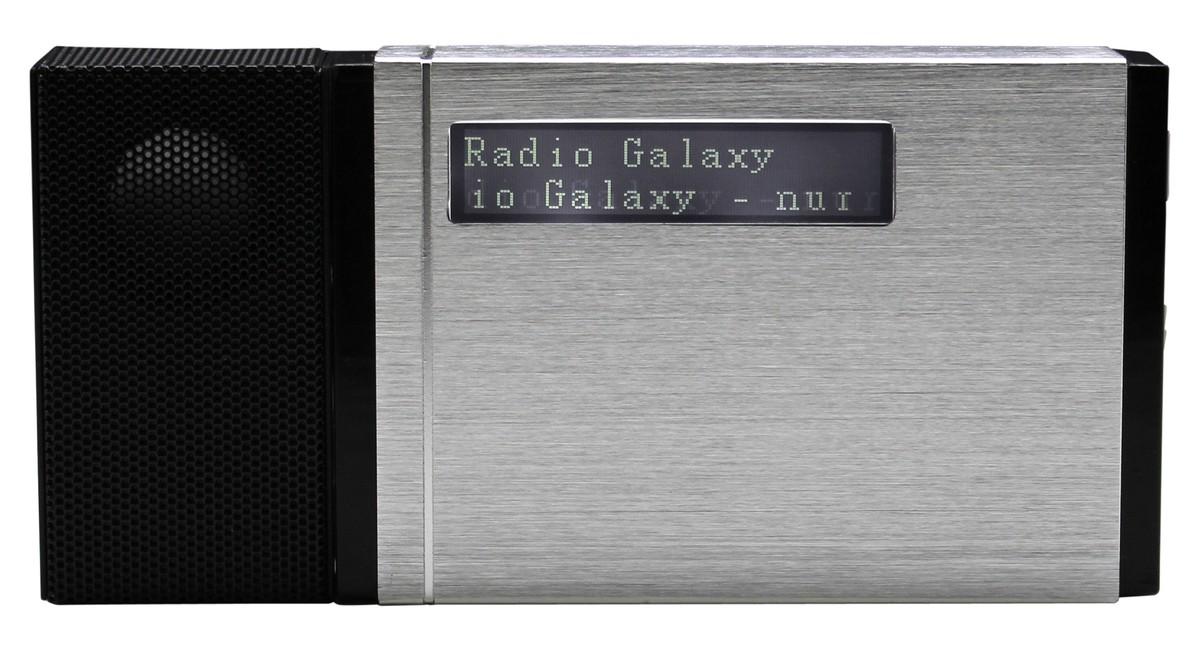 Bild 2 von Soundmaster Tragbarer DAB+/UKW PLL-Radio mit eingebautem Akku in hochwertiger Aluminiumoptik
