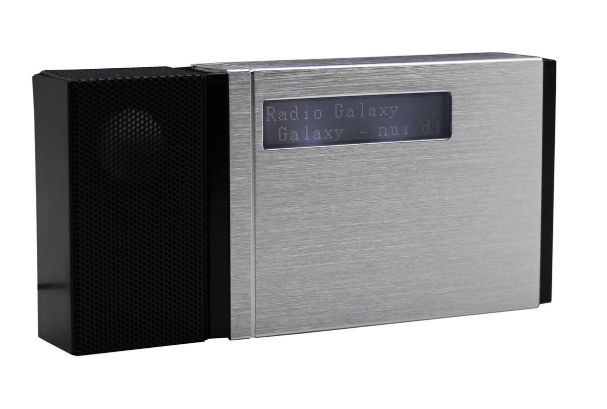 Bild 3 von Soundmaster Tragbarer DAB+/UKW PLL-Radio mit eingebautem Akku in hochwertiger Aluminiumoptik