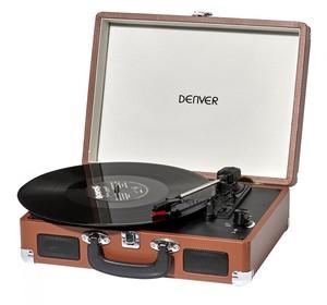 DENVER - Vpl-120 Retro USB Plattenspieler