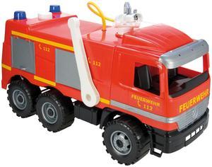 LENA® Starke Riesen Feuerwehr Modell Actros mit Aufkleber