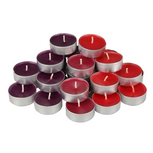 Duftteelichter, 30er-Pack, rot
